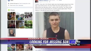 Parent takes to social media in hopes of finding son