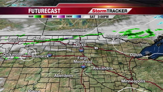 Sunny to Partly Cloudy South, Cloudy & Cooler North