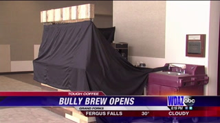 Bully Brew Coffee Express in the Alerus Center. Photo from Bully Brew.
