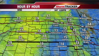 Breezy Today through Tuesday