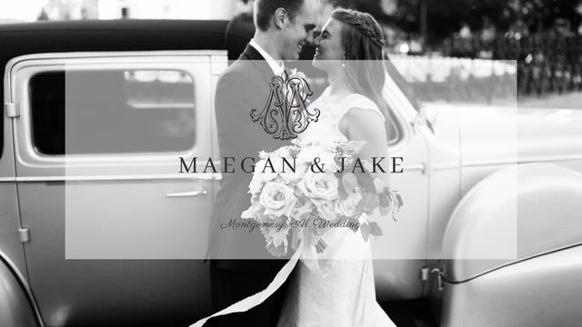 Maegan + Jake | Montgomery, Alabama | Alley Station Warehouse