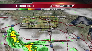 StormTRACKER Forecast Tuesday Night
