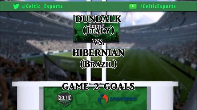 Dundalk vs. Hibernian - Game 2 Goals