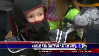 Large turnout for Fargo's annual Boo at the Zoo