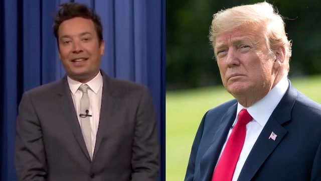 'Shouldn't he have more important things to do?': Jimmy Fallon reacts to Trump's Twitter jab
