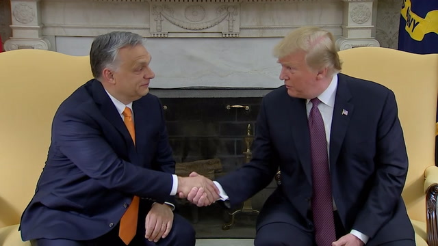 Trump says Orban is 'a little bit controversial, like me'