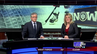 Fargo hockey coach welcomes daughter into the world
