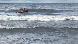 Ryan Fuglie of Osceola, Wis., and his daughter Lillian drowned in Lake Superior offshore from Duluth's Park Point on Thursday. (Photo courtesy of Shannon Smith)