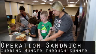 Operation Sandwich Curbing Hunger Through Summer