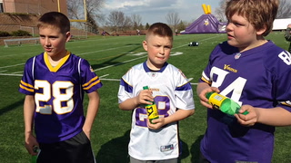 Athletes share experiences at InSports football clinic