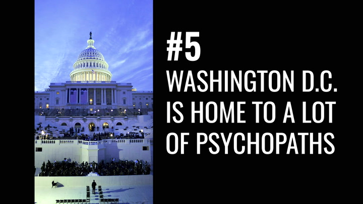 List of US States With the Most Psychopaths Isn't That Surprising