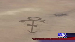 North Dakota farmer's tribute to Prince goes viral