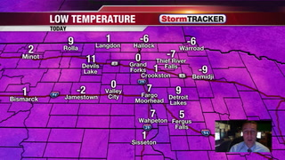 Chilly Tuesday with Warmer Air Tomorrow & Thursday