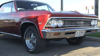 Car club turns El Roco parking lot into Cruise Night car show
