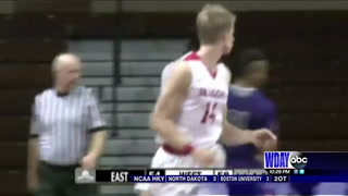 Lien represents MSUM at Division II All-Star game