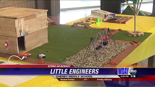 Little engineers in STEM Academy show off creations