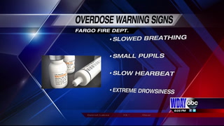 Overdose warning signs