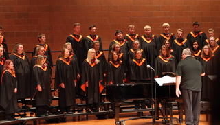 Morris Area A Cappella choir sings