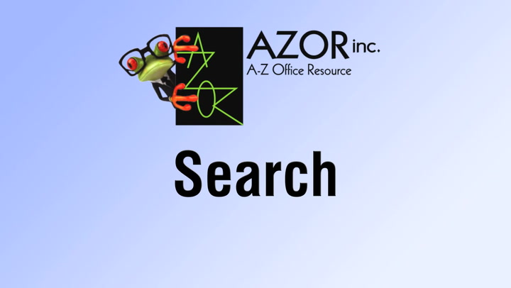 Search on shop.AZORinc.com
