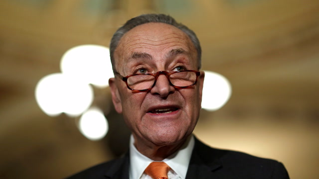 Schumer says shutdown 'will fall on the Republicans' backs'