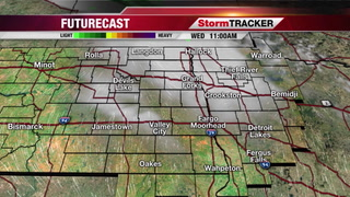 Wednesday StormTRACKER Forecast