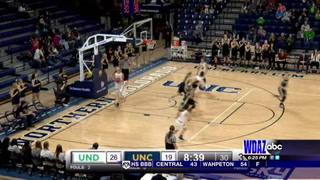 Northern Colorado rallies to beat UND women
