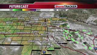 Partly Cloudy Tuesday with Warmer Temps