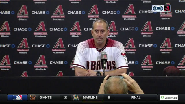 Lovullo: Zack gave us exactly what we needed