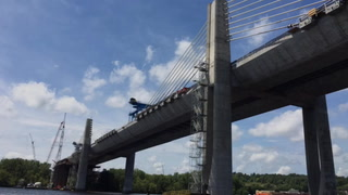 Look inside the St. Croix Crossing bridge