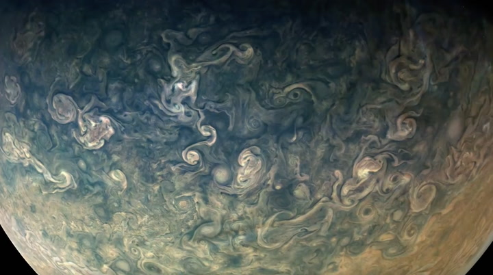 Jupiter's Great Red Spot Is a Beautiful Cyclone of Pure Death