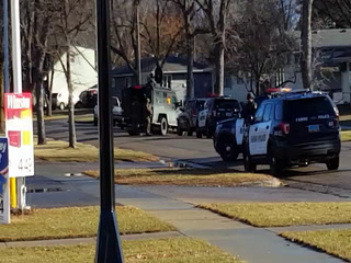 Report of gunman prompts police to block off streets in north Fargo