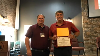 Westrom received WCROC's Lifetime Leadership and Service Award