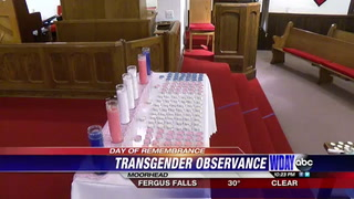 Local church hosts service for 'Transgender Day of Remembrance'