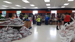 Morris's Summer Food Distribution program