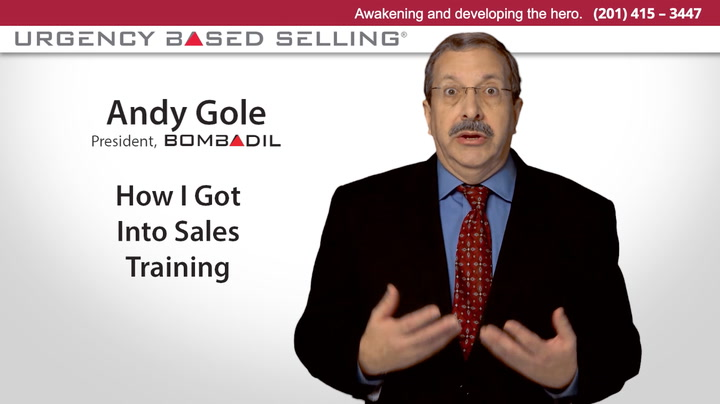 How I Got Into Sales Training | Andy Gole