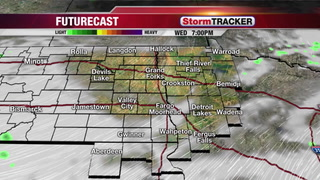 StormTRACKER Wednesday Early Evening Forecast