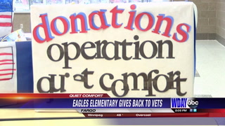 Fargo second graders give back to veterans in a special way