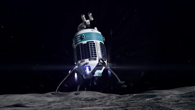 Moon Express: Lunar Scout Expedition 1 animation