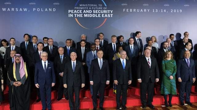 Pompeo hosts Middle East peace conference in Poland