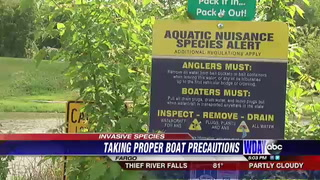 DNR reminds public of steps to prevent spread of invasive species