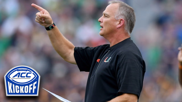 Mark Richt Breaks Down Miami QB Situation | ACC Kickoff