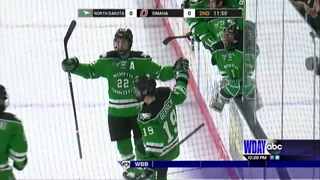 UND rebounds with win over Omaha