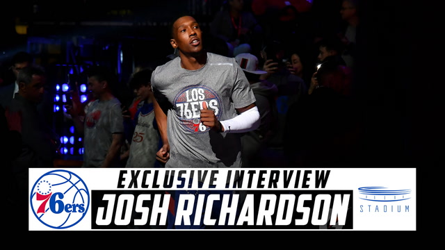 76ers Guard Josh Richardson Joins Shams Charania for an Interview From Home