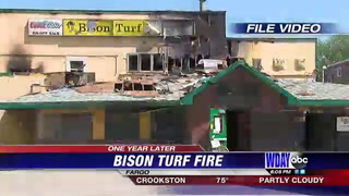 One year anniversary since devastating Fargo Turf fire