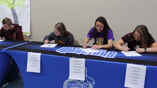 Brainerd Athletes Signing