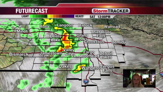 Saturday Showers and Thunderstorms