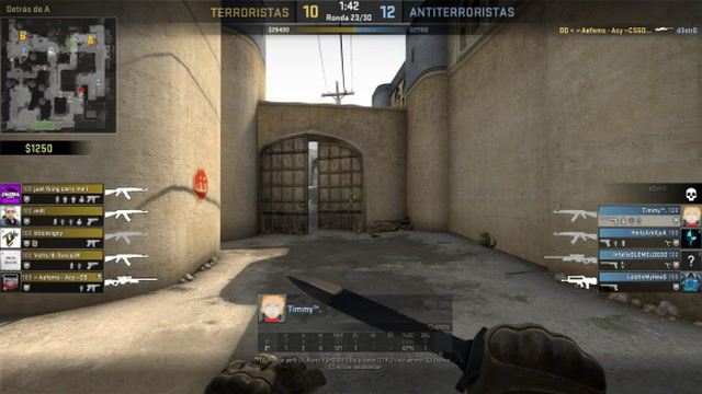 Timmy Ace + defuse + save AWP