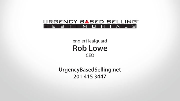 Leafguard Selects Urgency Based Selling Program
