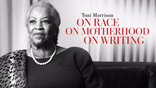 Toni Morrison on race, motherhood and writing