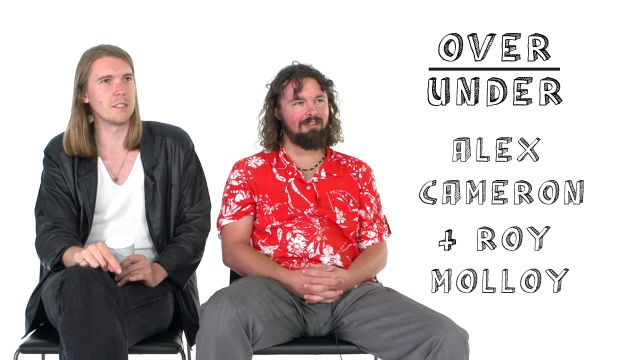 Alex Cameron and Roy Molloy Rate Balding, Crying, and Super Gonorrhea